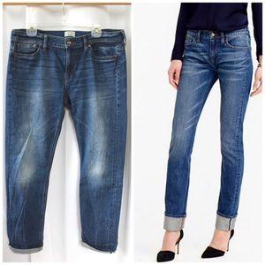 """J. Crew Selvedge Matchstick Jeans 32"""" waist"""
